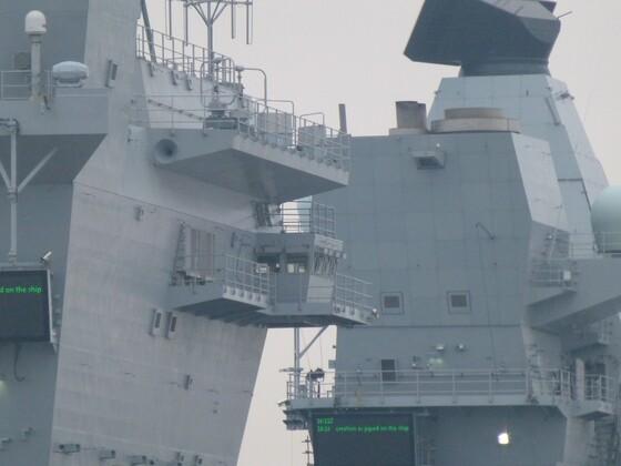 Liz docked at Portsmouth 4