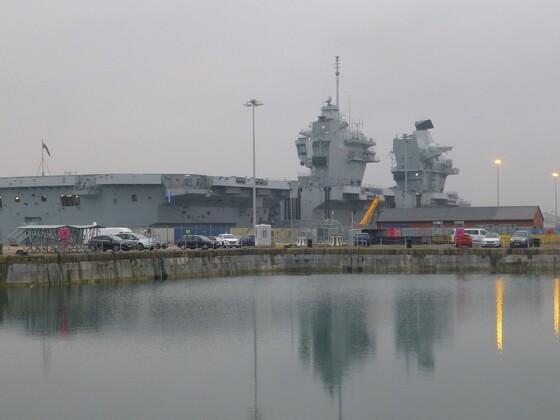 Liz docked at Portsmouth 2