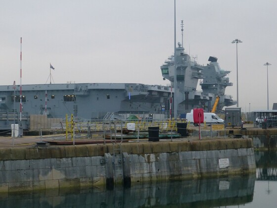 Liz docked at Portsmouth 5